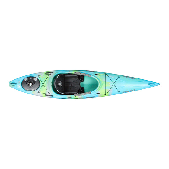 Jackson Kayak Tupelo 12.5 bermuda top view