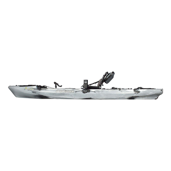 Jackson kayak mayfly arctic side view