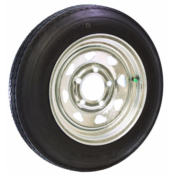 "Microsport 12"" Galvanized Spare Tire w/ Locking Attachment"