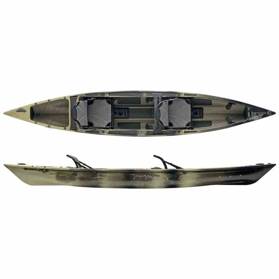 Native Watercraft Ultimate FX 15 Tandem Hidden Oak color