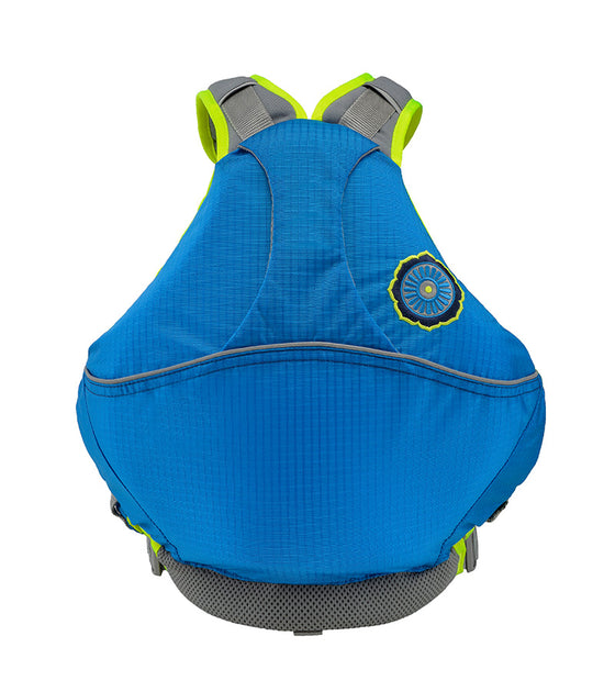 Astral Otter 2.0 Kids Lifejacket blue back