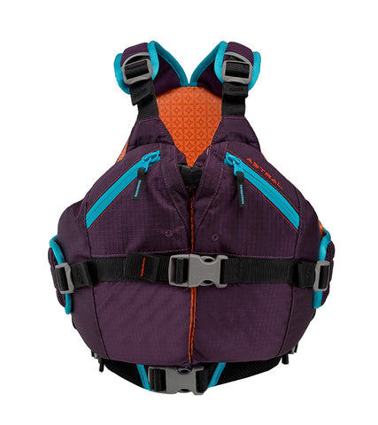 Astral Otter 2.0 Kids Lifejacket eggplant front
