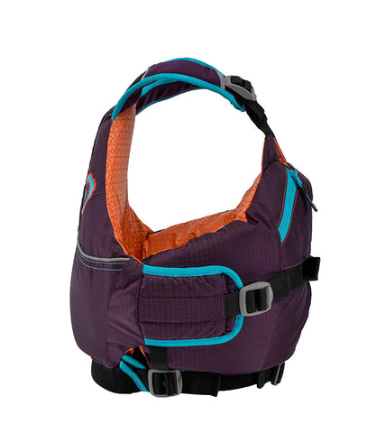 Astral Otter 2.0 Kids Lifejacket eggplant side