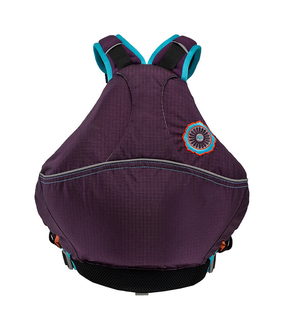Astral Otter 2.0 Kids Lifejacket eggplant back