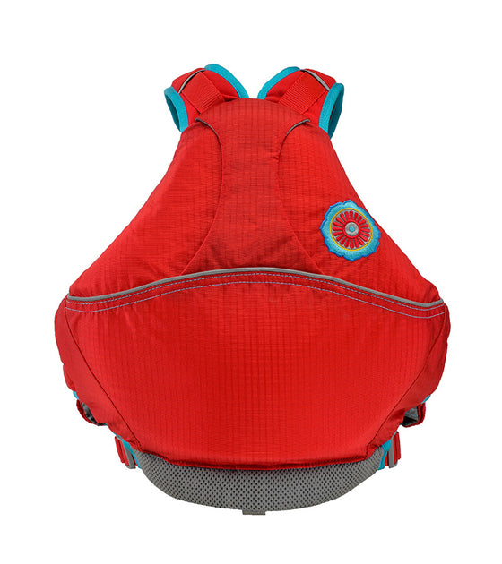 Astral Otter 2.0 Kids Lifejacket Red back