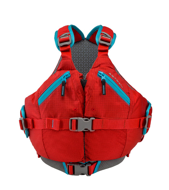 Astral Otter 2.0 Kids Lifejacket red front