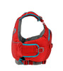 Image of Astral Otter 2.0 Kids Lifejacket red side