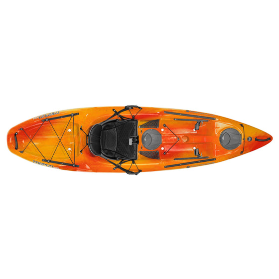 Wilderness Systems Tarpon 100 Mango top view