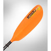 Image of Werner Skagit Hooked Paddle Orange blade view