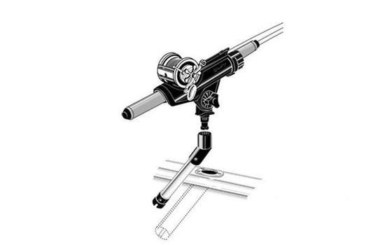 Scotty No. 253 Gimbal Rod Holder Adapter