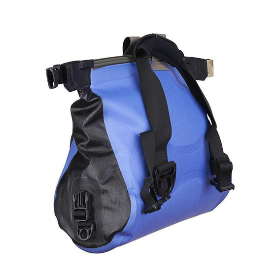 Watershed Ocoee Duffel 15L Blue Unrolled