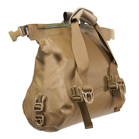 Watershed Ocoee Duffel 15L Coyote Unrolled