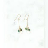 Turquoise & Pearl Earrings