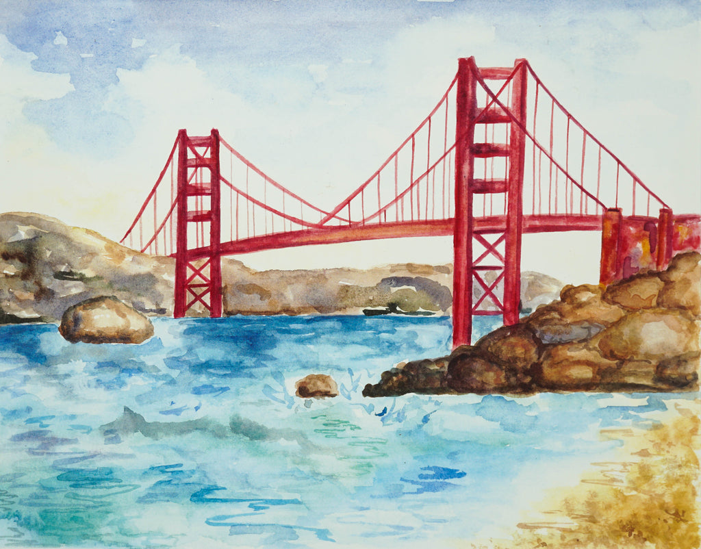 Golden Gate // 11x14