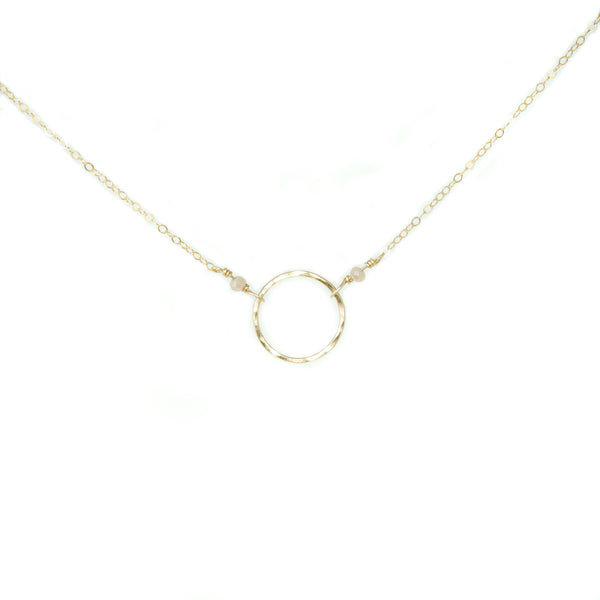 Rae Necklace w. Blush