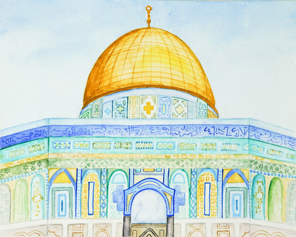 Dome of the Rock // 8x10
