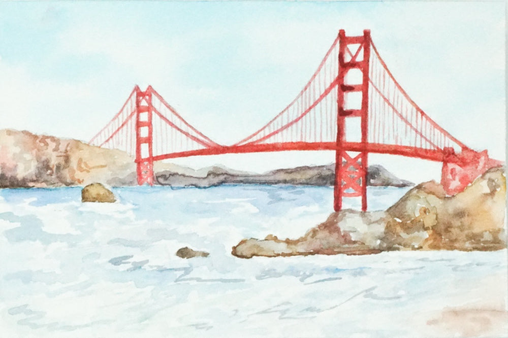 Mini Golden Gate Bridge // 4x6