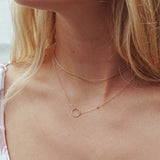 Simple Circle Necklace