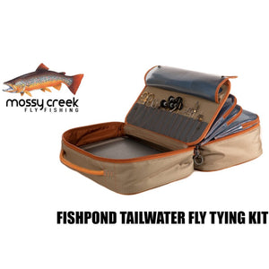 Mossy Creek Fly Fishing Product Review: Fishpond Tailwater Fly Tying Kit