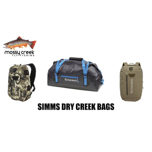 Mossy Creek Product Review: Simms Dry Creek Bags