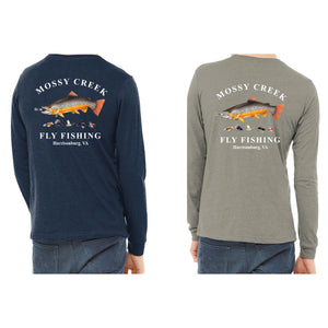 New Mossy Creek Vintage Logo Long Sleeve Tees