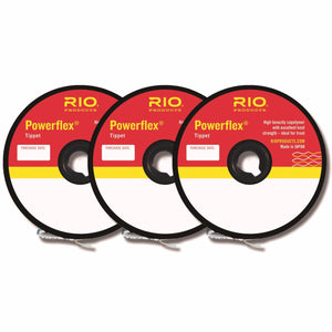 RIO Powerflex Tippet 3-Pack Selection - Mossy Creek Fly Fishing