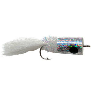 Banger Popper Silver - Mossy Creek Fly Fishing