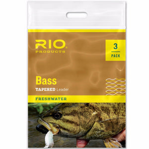 RIO Bass Leader 3 Pack - Mossy Creek Fly Fishing