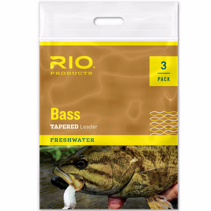 RIO Bass Leader 3 Pack