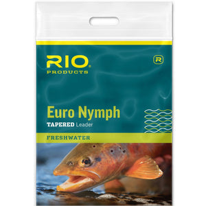 RIO Euro Nymph Tapered Leader - Mossy Creek Fly Fishing