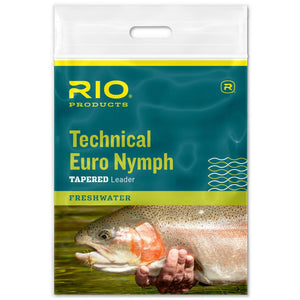 RIO Technical Euro Nymph Tapered Leader - Mossy Creek Fly Fishing