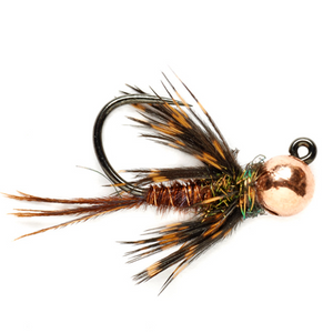 Soft Hackle Pheasant Tail Jig Barbless
