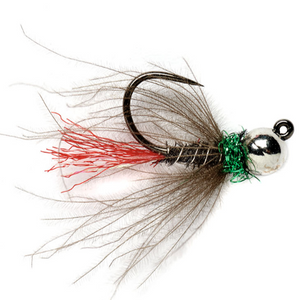 Red Tag Jig Black - Mossy Creek Fly Fishing