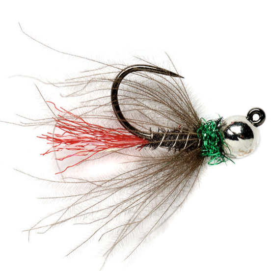 Red Tag Jig Black