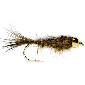 BH Flashback Hare's Ear Nymph Olive