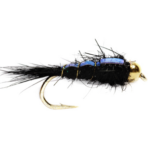 BH Flashback Hare's Ear Nymph Black