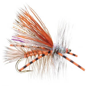 Kaufmann's Crystal Stimulator Rubber Legs Orange - Mossy Creek Fly Fishing