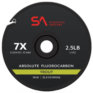 Scientific Angler Absolute Fluorocarbon Trout 30m Spool - Mossy Creek Fly Fishing