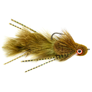 Bank Robber Sculpin Olive - Mossy Creek Fly Fishing