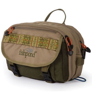 Fishpond Blue River Chest/Lumbar Pack Khaki/Sage - Mossy Creek Fly Fishing