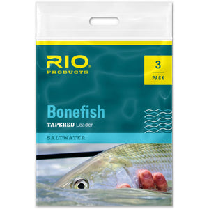 RIO Bonefish Tapered Leader 3-Pack - Mossy Creek Fly Fishing