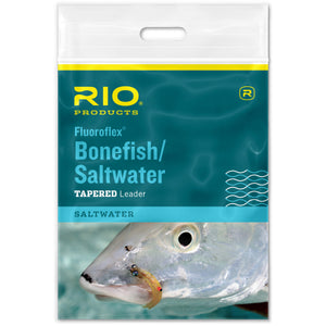 RIO Fluoroflex Bonefish/Saltwater Tapered Leader - Mossy Creek Fly Fishing