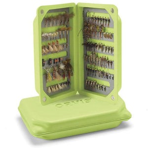 Orvis Ultralight Floating Foam Fly Box Citron - Mossy Creek Fly Fishing