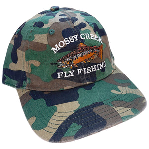 Mossy Creek Vintage 6 Panel Hat Camo - Mossy Creek Fly Fishing