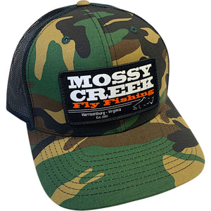 Mossy Creek Patch Trucker Green Camo - Mossy Creek Fly Fishing