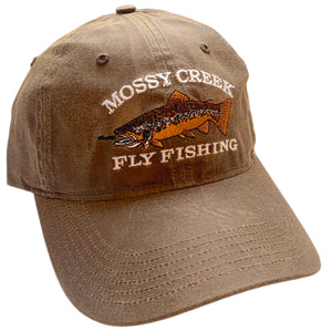 Mossy Creek Oiled Canvas Hat Buck - Mossy Creek Fly Fishing
