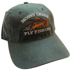 Mossy Creek Oiled Canvas Hat Dark Olive - Mossy Creek Fly Fishing