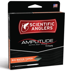 SA Amplitude Big Water Taper Fly Line - Mossy Creek Fly Fishing