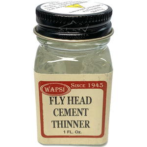 Wapsi Head Cement Thinner - Mossy Creek Fly Fishing