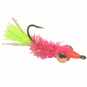 Tommy's Shad Dart Pink/Chart - Mossy Creek Fly Fishing